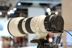 Sony ICLE-QX1 mit FE 70-200 mm F4 G OSS